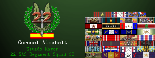 Aniversario de la fundación de la squad // Anniversary of the founding of the squad Firma_alexbelt
