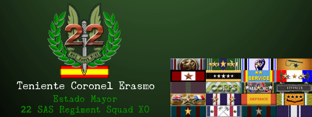 Aniversario de la fundación de la squad // Anniversary of the founding of the squad Firma_erasmo